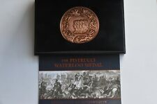 More details for the pistrucci waterloo medal 120 grams coa