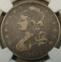 1835 Capped Bust Half Dollar 50c NGC Certified F15