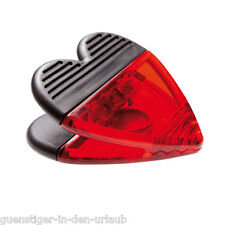 Memoclip mit Magnet Notizhalter Kartenhalter Klammer Deko Clip Herz NEU