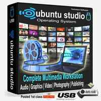 Ubuntu Studio 2020 16GB USB *Install on any Computer* (Replace Windows 7,8,10 )