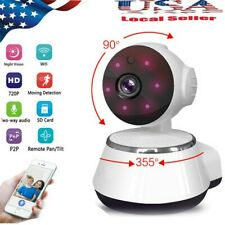 NEW 720P HD Wireless WIFI Pan Tilt Network Home CCTV IP Camera IR Night Vision