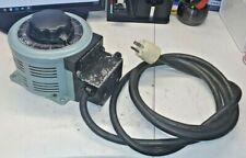 Powerstat 3pn126 Variable Autotransformer 120v Input 0 140v Output