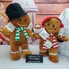 🎁NEW Build A Bear Gingerbread Christmas Plush Hot Mug Wristie Mini 2020