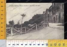 41582] RIETI - COLLALTO SABINO - PAESE ALPESTRE A 1000 METRI DAL MARE  _ 1929