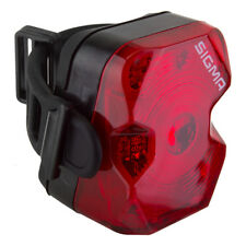 Sigma Nugget Flash USB Rechargeable  Bicycle LED Taillight red bmx