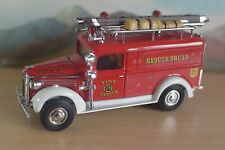 MATCHBOX MODELS OF YESTERYEAR YFE10 1937 GMC FIRE RESCUE SQUAD VAN