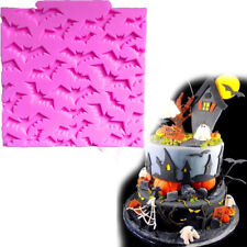Halloween Vampire Bat Chocolate Baking Mold Mat Silicone Cake Biscuit Mould Tool