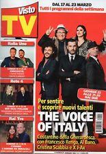 Visto Tv 2018 9.Al Bano,J-Ax, Costantino Della Gherardesca,Francesco Renga