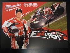 Milwaukee Yamaha Racing Yamaha R1 BSB 2013 #77 James Ellison (GB) signed