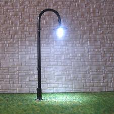 20 pcs HO scale Model Lamp LED Lamppost longlife cold street light not hot #L005