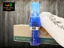 Rnt Rich-N-Tone Old Style Single Reed Duck Call Light Blue Acrylic