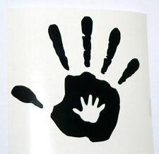 adesivo mano dita sticker decal vynil vinile auto moto car fingers hand bless