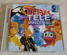 CD ALBUM TUBES TELE ANNEES 80 VOLUME 2 25 TITRES 2002 CANDY PACMAN GOLDORAK