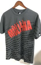 METAL MULISHA Gray Short Sleeve T Tee Shirt Men's size L Large Red MM In Red
