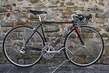 colnago carbitubo campagnolo record 8v   size 48 carbon vintage bike eroica