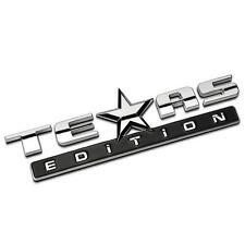 E374 TEXAS Emblem Badge auto aufkleber 3D Schriftzug Plakette car Sticker Neu
