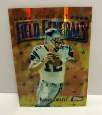 Kerry Collins 1997 Finest ATOMIC GOLD RARE REFRACTOR #160