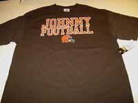 Johnny Football Cleveland Browns Quarterback Manziel NFL Team T-Shirt New NWT XL