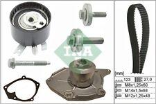 Courroie De Distribution & Pompe à eau Kit Fits Nissan Micra K12 1.5D 05 To 10 Set INA Qualité