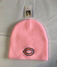 Chicago Bears Knit Beanie Winter Hat Toque Skull Cap NEW Pink Women's