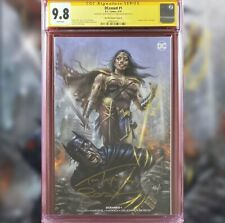 Dceased #1 Parrillo Variant Cover B Cgc 9.8 Ss Lucio Parrillo Tom Taylor W/Coa