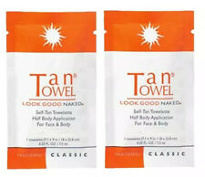 TANTOWEL (HALF BODY CLASSIC) SELF-TAN TOWELETTE FOR FACE & BODY - 2 TOWELETTES