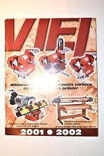 VIEL Canada CATALOG 2001-2002 lathe Grinder Sharpener  #RR414 English/French.