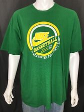 Nike Gray Tag Green Ss T-Shirt Basketball Armed for the Full Forty Eight Xl