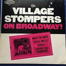 EP The Village Stompers on Broadway Mack The Knife + 3 Epic EX7507  VGC