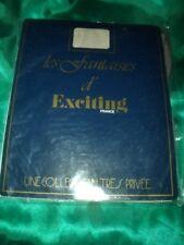 Französische Vintage Nylons Nylonstrümpfe Gr. 1 palombe Exciting Bas OVP