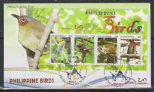 Philippine Stamps 2019 Philippine Birds (cut-to-shape MS) FDC