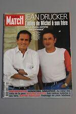 REVUE PARIS MATCH N°2814/2003 DRUCKER ADIEU A SON FRERE /MYLENE FARMER CADEAU...