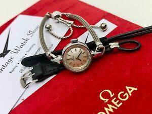 Vintage Ladies Omega watch Cal.483 1963 (+ Gift Box)