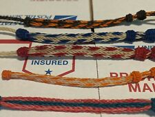 5 Hand Hitched Horse Hair Bracelets Montana State Prison Hand Made Collectable