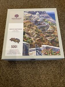 wentworth jigsaw - Above Santorini - 500 Pieces
