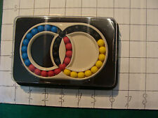 VINTAGE PUZZLE sealed and unused HUNGARIAN RINGS double rings 1982 E Pap Hungary