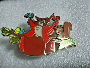 Disney  Sleeping Beauty Animals In Prince's Clothes LE 271/400 PARIS PIN