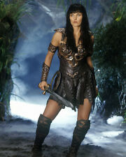 Xena Lucy Lawless Fantastic Forest Colour 10x8 Photo