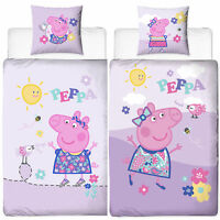 Biber Bettwäsche Peppa Wutz Pig 135x200+80x80cm Bettzeug 100% Baumwolle Flanell