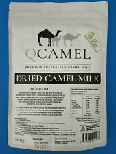 Qcamel Dried Premium Powder Camel Milk Long Life Casein Free Organic Halal Pure