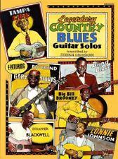 Legendary Country Blues Guitar Solos TAB & Music Book Stefan Grossman Gary Davis