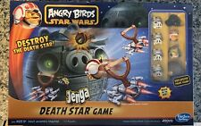 🔥 Angry Birds Star Wars Jenga Death Star Board Game Hasbro 2012 Used ONCE 🔥
