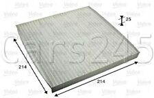 Smart Fortwo Coupe Convertible Particulate Cabin Air Filter VALEO 2007-