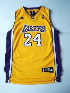 Kobe Bryant adidas swingman youth L authentics jersey 24# yellow