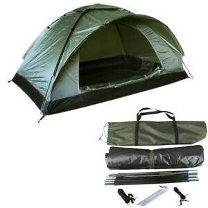 Kombat UK Ranger Tent Olive Green 2 Person Single Skin Military Army cadet Style