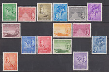 Seychelles 1952 Mint Mounted Set to 10r Cat £90