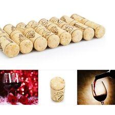 Diy Wine Bottle Straight Corks 10pcs Wood Sealing Plug Stoppers Barware Tools