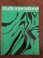 Studio International 1965 ART AND DESIGN COVER GIO' POMODORO SCIALOJA,PARTRIDGE