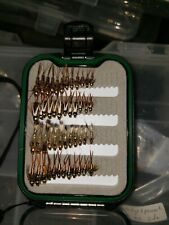 72 Western Trout Flies w//box Quality Trout Fly Box  Assortment
