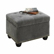 c325af2af770d Velvet Ottomans, Footstools & Poufs for sale | eBay